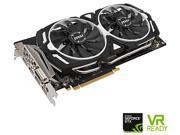 MSI GeForce GTX 1060 DirectX 12 GTX 1060 ARMOR 6G OC 6GB 192-Bit GDDR5 PCI Express 3.0 x16 HDCP Ready ATX Video Card
