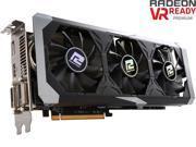 PowerColor PCS+ Radeon R9 390 DirectX 12 AXR9 390 8GBD5-PPDHE 8GB 512-Bit GDDR5 PCI Express 3.0 CrossFireX Support ATX Video Card