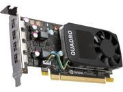 PNY Quadro P600 VCQP600 PB 2GB 128 bit GDDR5 PCI Express 3.0 x16 Low Profile Video Cards Workstation