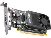 PNY Quadro P400 VCQP400 PB 2GB 64 bit GDDR5 PCI Express 3.0 x16 Low Profile Video Cards Workstation