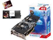 HIS H285QMB2GD Radeon R9 285 2GB 256-Bit GDDR5 PCI Express 3.0 x16 HDCP Ready CrossFireX Support Video Card
