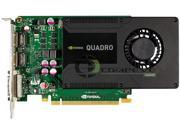 Hewlett-Packard Quadro K2000 C2J93AA 2GB 128-bit GDDR5 PCI Express 2.0 x16 Workstation Video Card