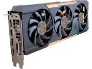 SAPPHIRE Tri-X Radeon R9 390X DirectX 12 100381OC-2L 8GB 512-Bit GDDR5 PCI Express 3.0 CrossFireX Support OC Version w/ backplate (UEFI) Video Card