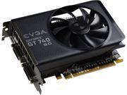 EVGA GeForce GT 740 02G-P4-3747-RX 2GB 128-Bit GDDR5 PCI Express 3.0 x16 Video Card