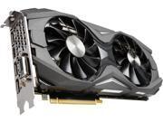 ZOTAC GeForce GTX 1080 AMP! Edition, ZT-P10800C-10P, 8GB GDDR5X IceStorm Cooling, Metal Wraparound Carbon ExoArmor Exterior, Ultra-wide 100mm Fans, Spectra...