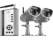 Digital Wireless DVR Security System with Receiver and 2 Long Range Night Vision Camera