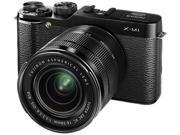 Fujifilm X-M1 Mirrorless Digital Camera with XC 16-50mm f/3.5-5.6 OIS Lens (Black)