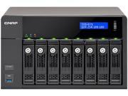 QNAP TVS 871T I7 16G US Tvs 871T Turbo Nas Nas Server 8 Bays Sata 6Gb S Raid 0 1 5 6 10 Gigabit Ethernet 10 Gigabit Ethernet Iscsi