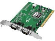 SIIG CyberSerial 2-port PCI Serial Adapter Model JJ-P29012-S7