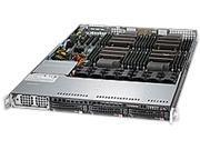 SUPERMICRO SYS-8017R-TF+ 1U Rackmount Server Barebone Quad LGA 2011 Intel C602 DDR3 1866/1600/1333/1066/800