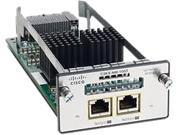Cisco C3KX-NM-10GT= Two 10GB-T ports network module