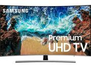 "Samsung 65"" Class LED Curved NU8500 Series 2160p Smart 4K UHD TV with HDR UN65NU8500FXZA"