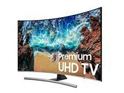 """Samsung 55"""" Class LED Curved NU8500 Series 2160p Smart 4K UHD TV with HDR UN55NU8500FXZA"""