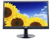 "AOC e2260Swda 21.5"" LED LCD Monitor - 16:9 - 5ms - Adjustable Display Angle - 1920 x 1080 - 16.7 Million Colors - 250 Nit - 20,000,000:1 - Full HD - Speakers - DVI - VGA - Black - ENERGY STAR, EPEAT G"