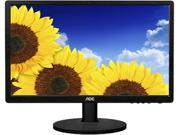 """AOC e2460Swhu Black 24""""  5ms HDMI Widescreen LED Backlight Monitor 250 cd/m2 20,000,000:1 built-in speakers"""