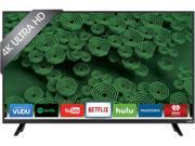 Vizio D40U D1 40 inch LED Smart 4K Ultra HDTV 3840 x 2160 5 000 000 1 240 Clear Action Rate Wi Fi HDMI