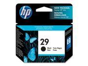 HP 29 Black Inkjet Print Cartridge (51629A)
