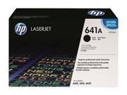 HP 641A Black LaserJet Toner Cartridge (C9720A)