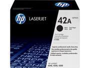 HP 42A LaserJet Toner Cartridge - Black