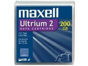 maxell 183850 200/400GB LTO Ultrium 2 Tape Media 1 Pack