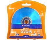 Verbatim 4.7GB 16X DVD+R 10 Packs Disc Model 97513