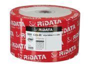 RiDATA 700MB 52X CD-R Inkjet White Hub Printable 50 Packs Disc Model R80JS52-RD-IWN50