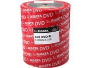 RiDATA 4.7 GB 16X DVD R 100 Pack Shrink Wrap Model DRD 4716 RD100ECOW