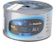 RiDATA 4.7GB 16X DVD-R 50 Packs Spindle Disc Model DRD-4716-RDM50W