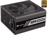CORSAIR RMx RM650X 650W ATX12V / EPS12V 80 PLUS GOLD Certified Full Modular Nvidia Sli ready and crossfire support Power Supply
