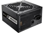 CORSAIR VS Series VS600 CP 9020119 NA 600W ATX12V EPS12V 80 PLUS Certified Active PFC Power Supply