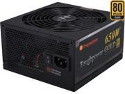 Thermaltake Toughpower TPD-0650M - SLI/ CrossFire Ready 80 PLUS Gold Certification and Semi Modular Cables  Black Active PFC Power Supply Intel Haswell Ready (PS-TPD-0650MPCGUS-1)