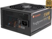 Thermaltake Toughpower TPD-0550M - SLI/ CrossFire Ready 80 PLUS Gold Certification and Semi Modular Cables  Black Active PFC Power Supply Intel Haswell Ready (PS-TPD-0550MPCGUS-1)