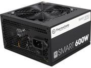 Thermaltake Smart Series 600W SLI CrossFire Ready Continuous Power ATX12V V2.3 EPS12V 80 PLUS Certified Active PFC Power Supply Haswell Ready PS SPD 0600NPC