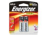 Energizer MAX 2-pack AA Alkaline Batteries