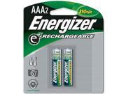 Energizer NH12BP-2 2-pack AAA Ni-MH Rechargeable Batteries