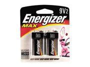 Energizer  522BP2 9V Alkaline Battery