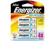 Energizer EA91BP4 4-pack AA Lithium Batteries