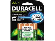 DURACELL 80232286 4-pack 2400mAh AA Ni-MH Rechargeable Batteries