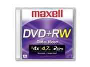 maxell 4.7GB 4X DVD+RW 5 Packs Disc Model 634045