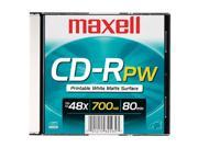 maxell 700MB 48X CD-R Single Disc Model 648721