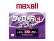 maxell 8.5GB 2.4X DVD+R DL Single Disc Model 634080