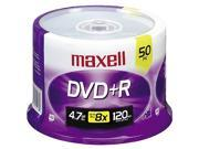 maxell 4.7GB 16X DVD+R 50 Packs Disc Model 634053