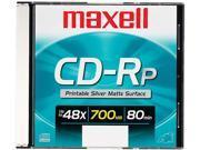 Maxell CD Recordable Media - CD-R - 48x - 700 MB