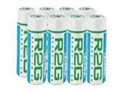 LENMAR R2GAA8 Ready-To-Go Batteries (AA&#59; 2.150mAh&#59; 8 pk)