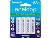 Panasonic BK-3MCCA4BA 4-pack AA eneloop Rechargeable Batteries