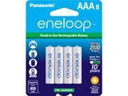 Panasonic BK-4MCCA8BA 8-pack AAA Rechargeable Batteries