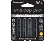 PANASONIC BK-3HCCA4BA eneloop(R) XX Batteries (AA&#59; 4 pk)