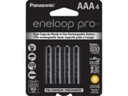 Panasonic BK-4HCCA4BA 4-pack AAA eneloop pro Rechargeable Batteries