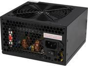 Zalman 500W LE Series Power Supply Dual forward Switching Circuit Design, ATX12V ver 2.3, Supports ATX 20+4 Pin Motherboard connector, Quiet 120mm fan