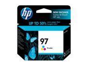 HP 97 Tri-color Inkjet Print Cartridge (C9363WN)